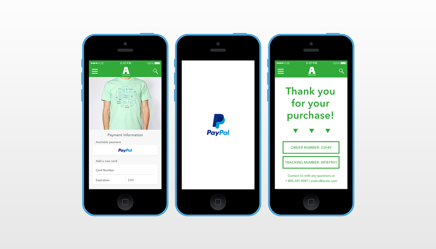 Revolutionizing one-touch by PayPal